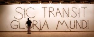 Mircea Cantor, Sic Transit Gloria Mundi, 2014