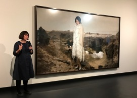 Curator Ellie Buttrose from QGOMA